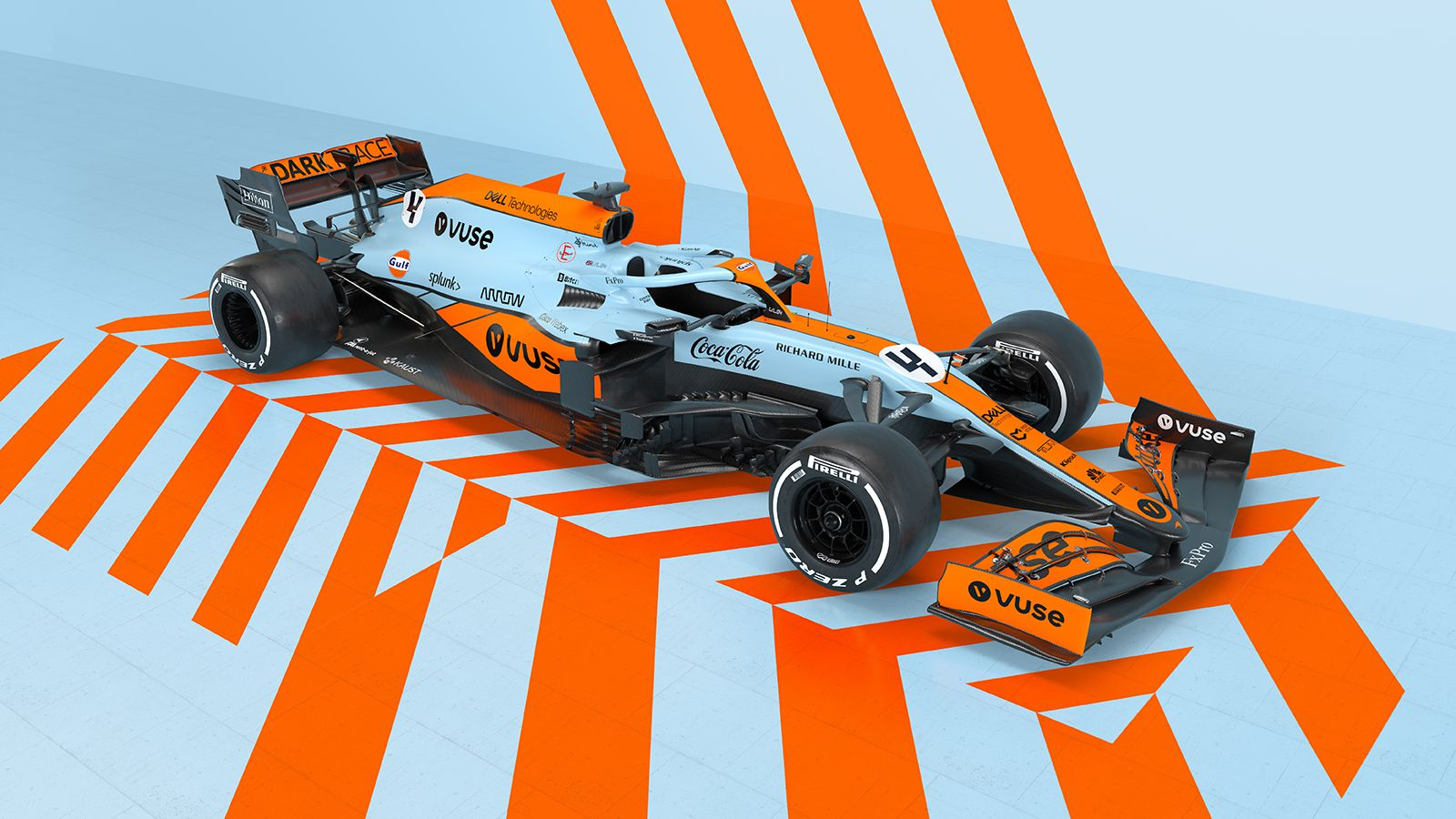McLaren Revives the Iconic 'Gulf' Livery for Monaco