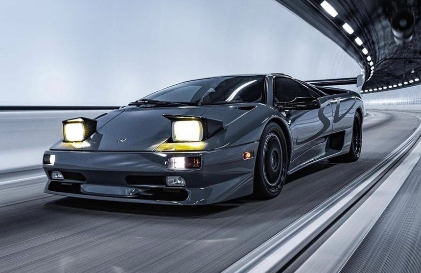 The Lamborghini Diablo Comes Straight From Hell
