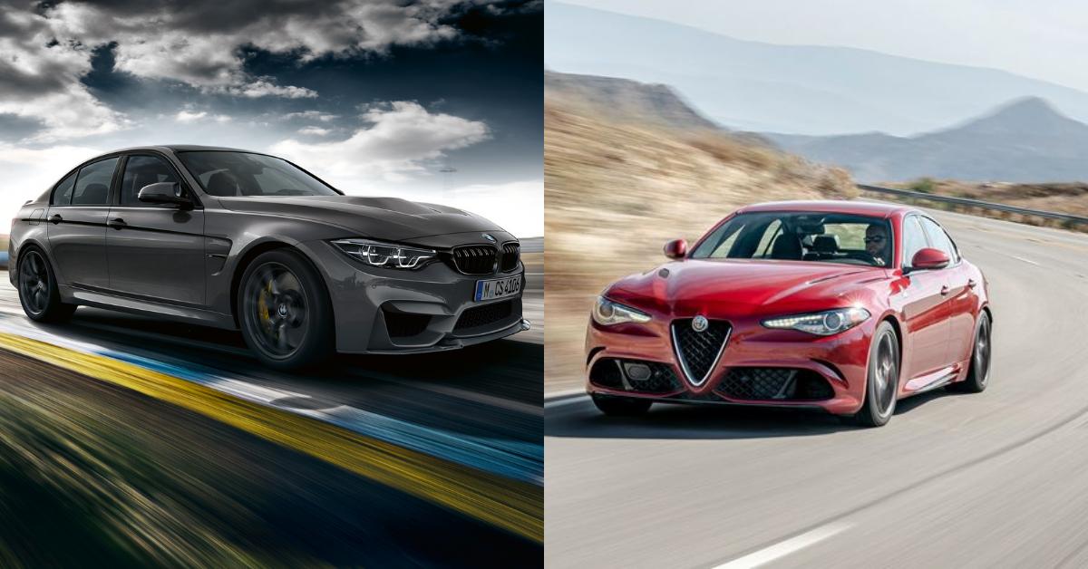 A European High Performance Faceoff: The M3 CS vs Giulia Quadrifoglio